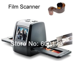 "5MP Digital Film Scanner Converter 35mm USB LCD Slide Negative Photo Scanner 2.36"" TFT 10 Bits(China (Mainland))"