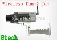 Blinking RED LED (Blinking indetect sensor)Wireless dummy camera with Motion Detection sensor fake surveillance camera, A005