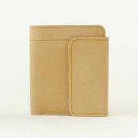 Multi-purpose water wash cowhide paper purse wallet free air mail