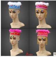 Uygur cap sweet princess cap space space cap the princess hat performance property hair hoop tire