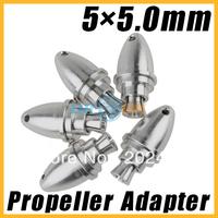 5x5.0mm RC Aluminum Bullet Propeller Adapter Holder for Brushless Motor Prop