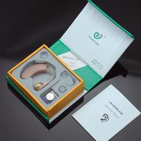 Wholesale 10PCS Cheap Behind the EAR Sound Voice Amplifier Deaf Hearing Aid Sale F-138
