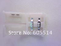 [Seven Neon]Free EMS shipping 200pcs 10mm weigth 5050 led strip connector for single led strip light,5050 led strip connector