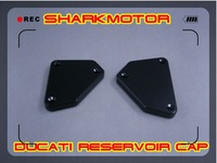 [Vic] BLACK DUCAT Front Brake Cover Oil RESERVOIR CAPS 749 999749S 999