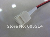 [Seven Neon]100pcs/set led strip Connector for 10mm 5050 LED SMD single color Strip with 14cm length cable