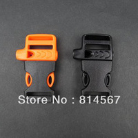 Emergency Plastic Whistle Paracord Buckle Free Shipping
