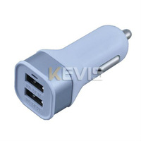 2A Car Charger Apapter 2 Port USB For Samsung Galaxy Tab P3100 P3110 P5100 P5110 P6200 P6210 P6800 P6810 P7300 P7310 P7500 P7510