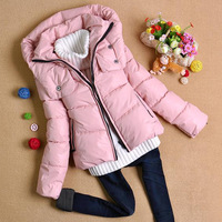 Free shipping winter women's outerwear stand collar short design down coat female overcoat cotton-padded coats and jacket