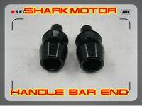 [Vic] BLACK Bar End Motorcycles handle bar cbr600rr 1000rr zx6r zx10r r1 r6 gsxr