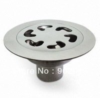 """KL-93C (4"""") Round Shape  Bathroom Accessory Stainless Steel Floor Drains Custom Made Item with High Quality"""