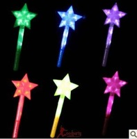 Masked ball concert glow sticks flashing stick our star shine the five-pointed star the fairy maiden stick