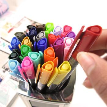 1944 korea stationery 24 multicolour pen water-based paint brush