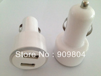 Portable 5V 2A Dual USB in car charger for iphone,ipad,Samsung Galaxy P1000