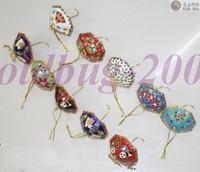 WHOLESALE lot 20pc Chinese folk Cloisonne Christmas umbrella gift