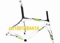 painted  - Full Carbon Road Bike Frame , fork , seatpost , clamp , headset - 50cm , 54cm , 56cm