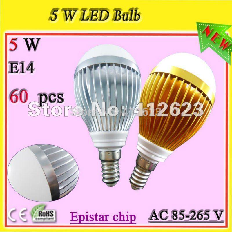 Free shipping 5W E27 / E26 led globe bulb_E27 Industral led bulb lamp(China (Mainland))