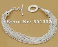 GY-PB022 Free Shipping Wholesale 925 silver Fashion Jewelry Bracelets, 925 Silver Bracelets ccba ktia tkra