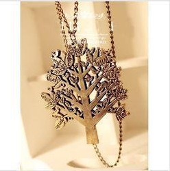 Min.order is $10 (mix order) N117 Fashion Europe style vintage bird/tree necklace wholesale free shipping(China (Mainland))