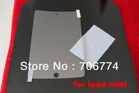 10pcs/lot Ultra Clear Screen Protector Cover Shield Guard for Apple iPad Mini Free Shipping