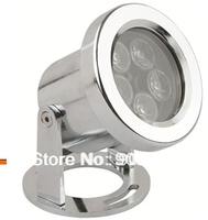 led waterproof underwat er lighting 5*1W cold color AC24V stainless steel body