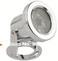 led waterproof underwat er lighting 5*1W cold color AC24V stainless steel body