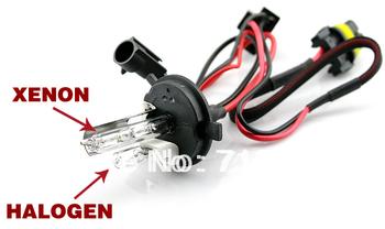 2014  New Free shipping H4-2 12V 35W HID xenon bulb lamp light (2 pcs bulb)