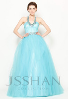 Baby Blue Quinceanera Dresses Gorgeous V-Neck Beaded Sequined Layered  Quinceanera Dress with Inlaid Petticoat Gown Dresses