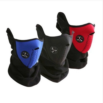 drop shipping Ski Snowboard Bike Motorcycle Face Mask Neck Warm black,blue,red as photo can choose