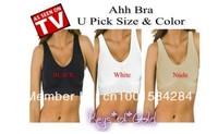 Free shipping Ahh Bra Sexy women's Bra Slim Underwear Breast Massage Seamless 3pcs/pack
