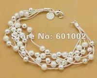 GY-PB031 Free Shipping Wholesale 925 silver Fashion Jewelry Bracelets, 925 Silver Bracelets bjta kbaa ssja