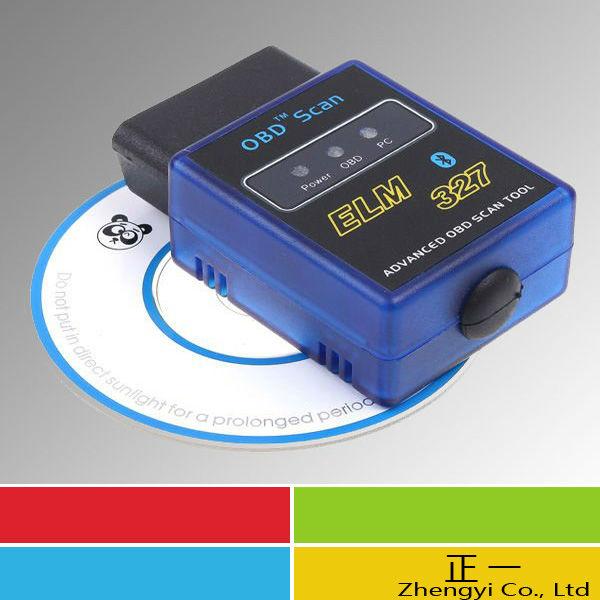 Free DHL 30pcs/lot New ELM327 V1.5 Mini Bluetooth ELM 327 OBDII OBD-II OBD2 Protocols Auto Diagnostic Tool(China (Mainland))