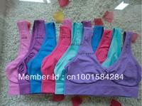 9 colors 120pcs/lot (3pcs/box) Free shipping Good Quality, AHH Bra Seamless Bra Microfiber Pullover Bra Body Shaper