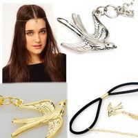 New Fashion 12pcs Ladys Swallow Bird Pendant Party Headband Hair Band Accessory 261466/261467