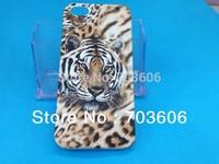 Tiger Pattern Hard Back Skin Case Cover for Apple iPhone 5 5G 10pcs/lot