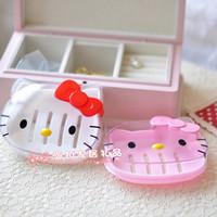 Hello kitty face kt HELLO KITTY soap box soap box soap dish