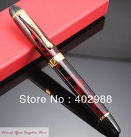JINHAO X450 Red Ice Flowers Fountain Pen M Nib