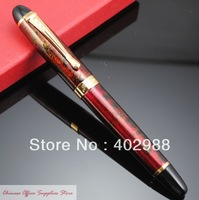 JINHAO X450 Luxury Gold Powder Paint Fountain Pen M Nib