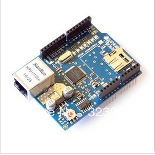New version of Ethernet the the W5100 networks expansion board  card expansion