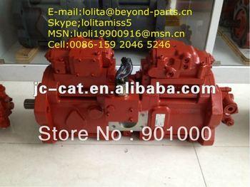 DongMing Hydraulic pump apply to Kawasaki K3V112DT with regulators and shaft 12 teeth