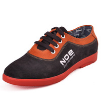 2012 new arrival male casual suede fashion  low-top shoes