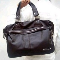 free shipping  man's high quality PU shoulder messenger bag ,fashion designer handbag & travel bag