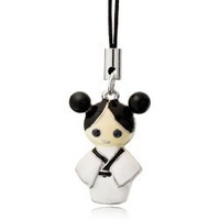 Fashion new arrival accessories cell phone accessories - girl kimono doll mobile phone chain