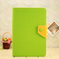 For ipad mini leather case cover, Fresh Colorful PU Leather Stand Case For iPad mini 7.9 inch, Free shipping