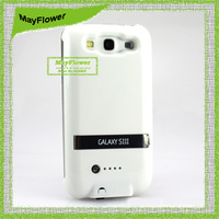 For Samsung Galaxy s3 i9300 power bank charger 2600 mAh external battery with protector case,free shipping