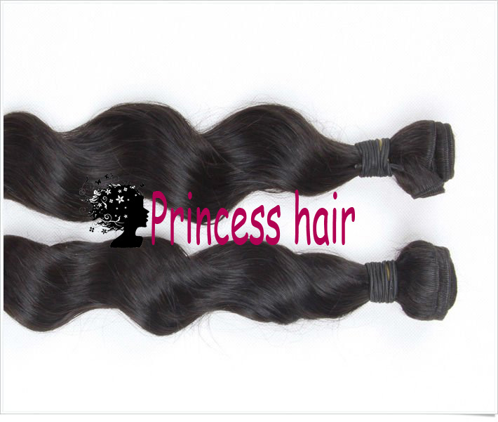 Virgin Brazilian Hair 12&#39;&#39;~28&#39;&#39; Loose Wavy Queen Hair Non Dyed Cuticl Intact, min shedding Weft Extensions(China (Mainland))