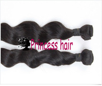 Virgin Brazilian Hair 12''~28'' Loose Wavy Queen Hair Non Dyed Cuticl Intact, min shedding Weft Extensions