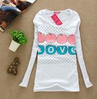 корейские женщины рубашка летняя одежда новый раунд мало конфеты цветные шифоновые жилет футболку t21681