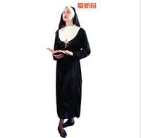 Halloween costumes Halloween costume masquerade clothing | adult children nun's clothes