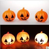 Halloween pumpkins lamp Halloween furnishing items pumpkin lamp led pumpkin small night lamp