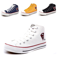 In 2012 the new arrival a variety of color cloth shoes GaoFan man/Mrs. Fashionable women canvas sports shoes free shipping